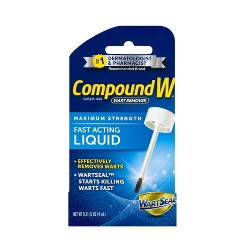 Compound W Fast Acting Wart Removal Liquid, 0 31 Fluid Ounce