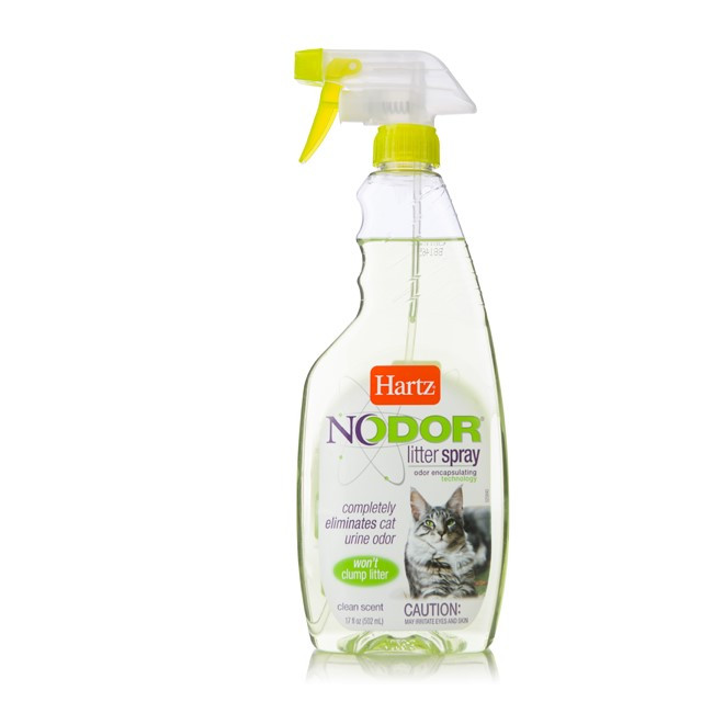 Hartz Nodor Litter Spray Scented, 17 Fluid Ounce